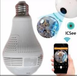 Camera Lâmpada wifi espiã R$ 170,00 a vista- Disfarçada IP