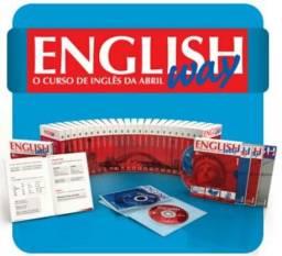 Curso de Inglês Completo com livro dvd e cd