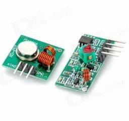 Módulo Rf Transmissor Receptor 433mhz Rf433 Am Rx Tx