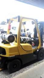 Empilhadeira hyster H50FT ano 2010 triplex glp pneus semi novos