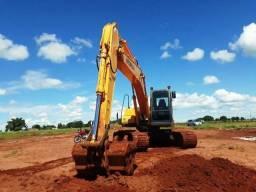 Escavadeira Hyundai 210 ano 2011 com 9.000 horas Rodantes Novos - Nova Andradina - MS