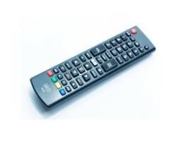 Controle Remoto Duo para Tv Smart 3d Marcas LG e Samsung com Tecla Futebol