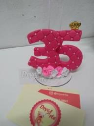 Topo de bolo/ velas personalizadas