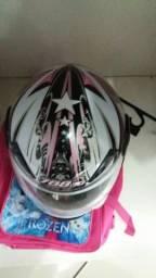 Vendo capacete feminino for girl