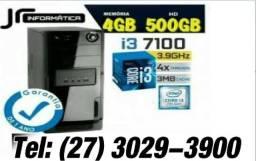 7100- CPU Core i3 Kaby Lake 7a Geração, Cache 4GB - HD 500GB -Novo com garantia 1 ano