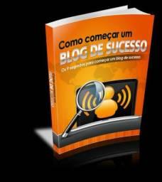 E-book Como começar uma Blog de Sucesso