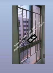 1 Grade de janela de proteçao 1m largura 1.15m altura