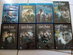 Dvd's colecao Harry Potter