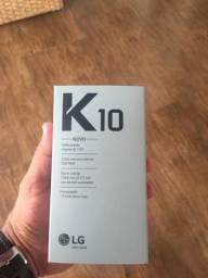 Celular lg k10 modelo novo 32gb octacore novo na cx