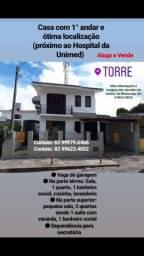 Aluga/Vende Casa 1° andar na Torre