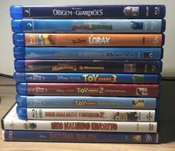 11 Filmes Blu-ray (Infantil-Animação)