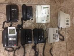Aparelhos telefönicos em perfeitas condições