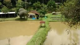 Sítio com 20.000 m²,casa rustica,3 belos e imensos lagos na propriedade(Tel. *2)