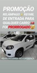 Fiat/UNO SPORTING 1.4 2013(R$11MIL DE ENTRADA)SHOWROOM AUTOMÓVEIS
