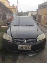 Honda civic LX 1.7 completo Entrada ZERO - 2005