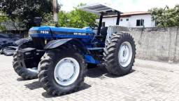 Trator New Holland 7830 ano 1997