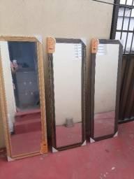 Espelho grande Marta Leão não distorce a imagem novo no plástico