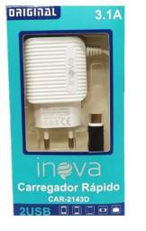 Carregador Celular Rápido Inova