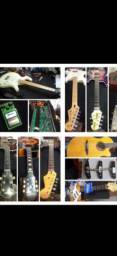 Luthier violão baixo guitarra pedal pedaleiras amp etc