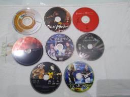 DVD's shows diversos - só mídia