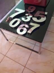 Números de 15cm pra casas  apartamentos em aço inox Zap *23