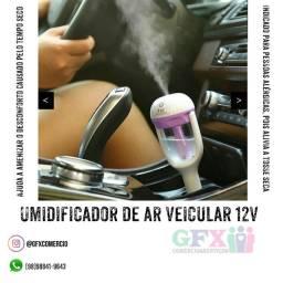 Umidificador de ar veicular 12V