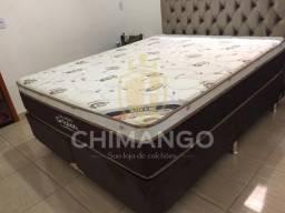 = Conjunto Sleep King Queen 32 cm altura 158x198 mega promoção