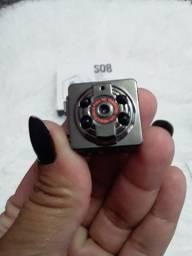 Micro camera espia serve para casa carro moto