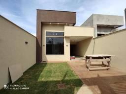 Casa 3/4 com suite no setor marilia com area gourmet