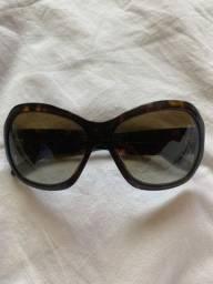 Óculos Versace marrom tartaruga