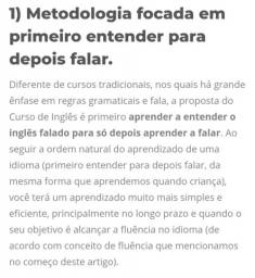 Curso de Inglês COMPLETO.
