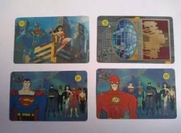 04 Cartões telefônico Liga da justiça
