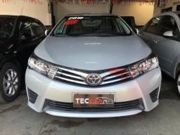 Toyota Corolla GLI 1.8 2016 Único Dono
