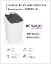 Quinta Gaspar Móveis - Lavadora 14 KG