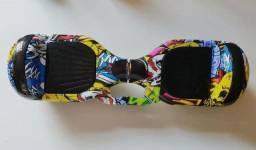 Hoverboard Skate Elétrico 6.5 Fogo Gelo Led Bluetooth