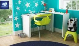 Mesa para Computador com Tampo Giratório #FreteGRÁTIS* #Nova #Garantia