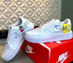 Título do anúncio: Tênis Nike Air Force Fragola & Piu Piu