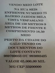 Meio Lote 9x16,50