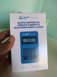 Máquina de cartão de crédito mercado pago