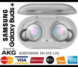 Headphone s/ Fio Samsung Galaxy Buds Plus AKG, Bluetooth, Novíss, Caixa, NF, Gar