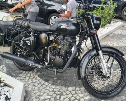 Royal Enfield Classic 500 Black Stealth - 4.500kms rodados
