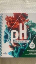 Livros sistema PH pré vestibular novos e semi - novos