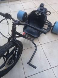 Trike Drift motor estacionário 210cc motorizada freio a disco
