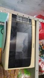 Título do anúncio: Vende se essa TV mais microondas 100 reias