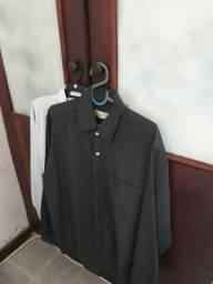 Título do anúncio: Camisa Social de Microfibra 2 Camisas Novas pelo Preço de Uma