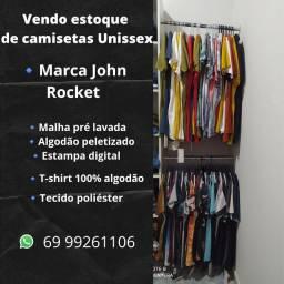 Vendo estoque de camisetas Unissex