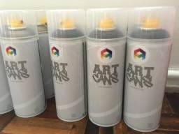 Título do anúncio: Lote de latas tinta spray grafite arte