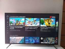 Smart tv 49 polegada TCL com vários Apps.