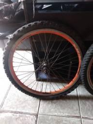 Par de rodas aro 24