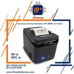 Impressora Térmica de Cupom Bematech MP-4200th Placa de Rede